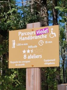 Accrobranche accessible