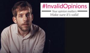 #InvalidOpinions