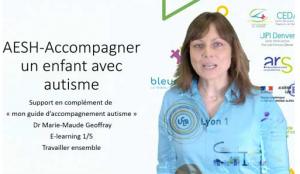 Information sur l'autisme par l'association Bleu Network